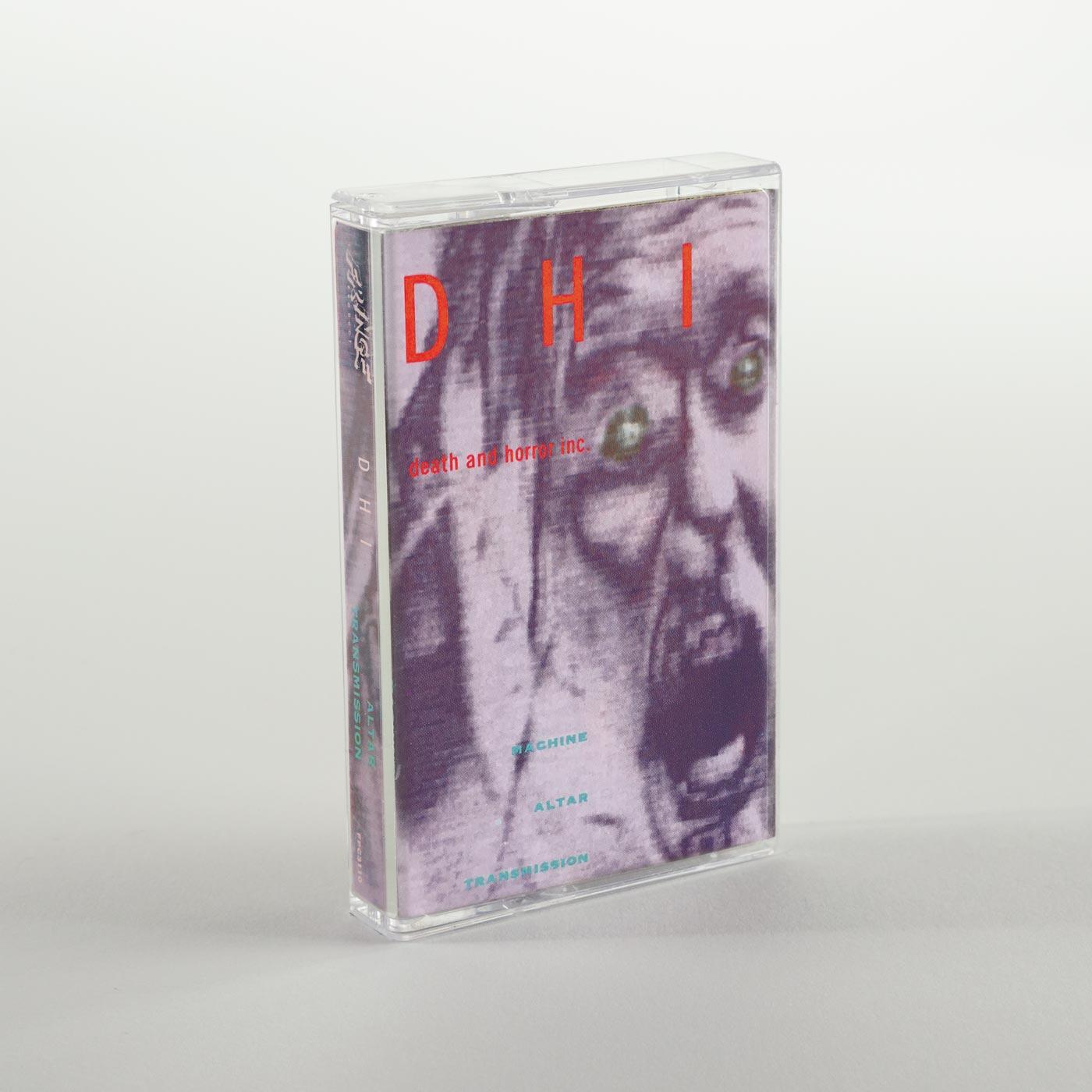 DHI (death and horror inc) Machine Altar Transmission cassette case